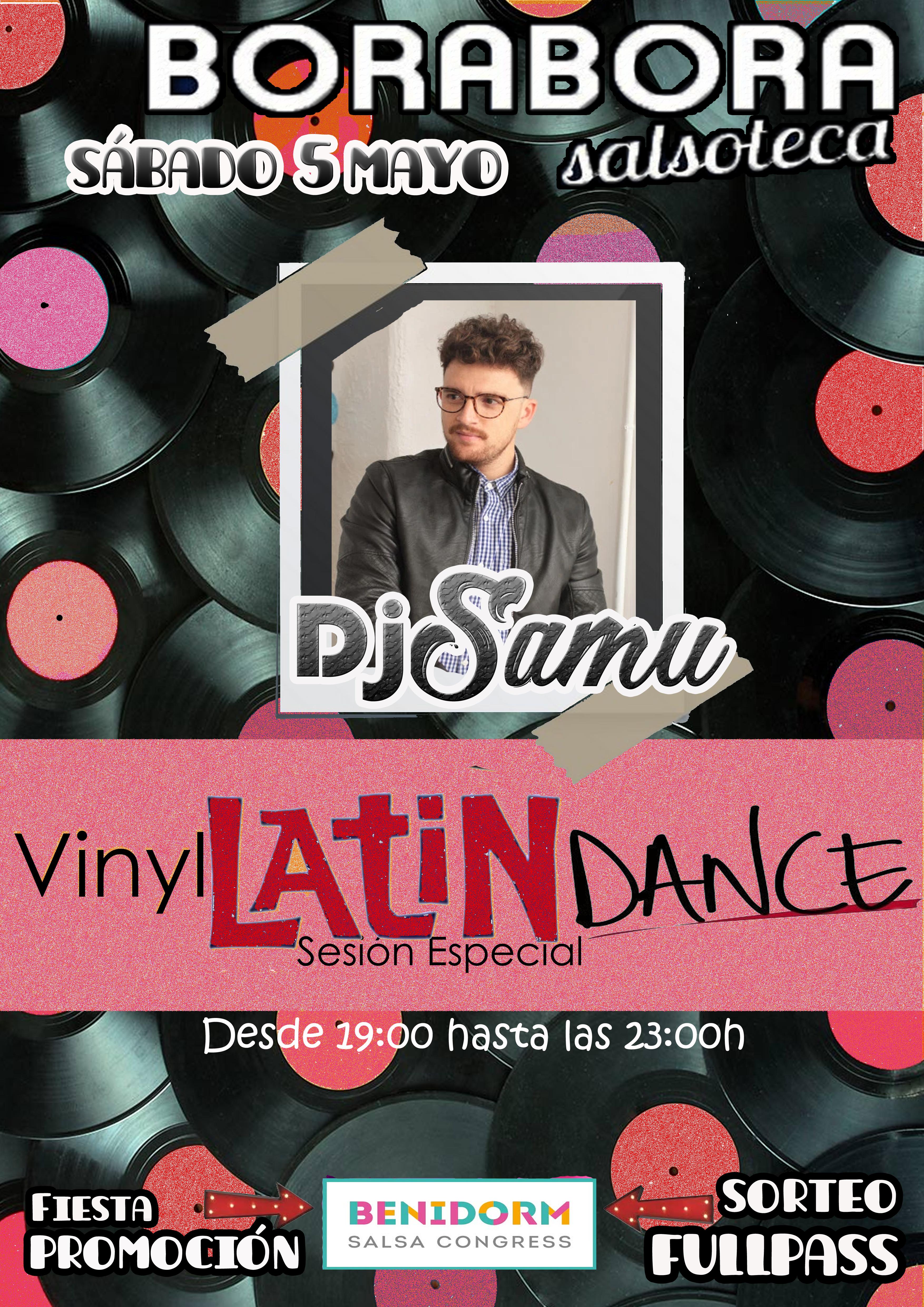 vinyl latin dance dj samu