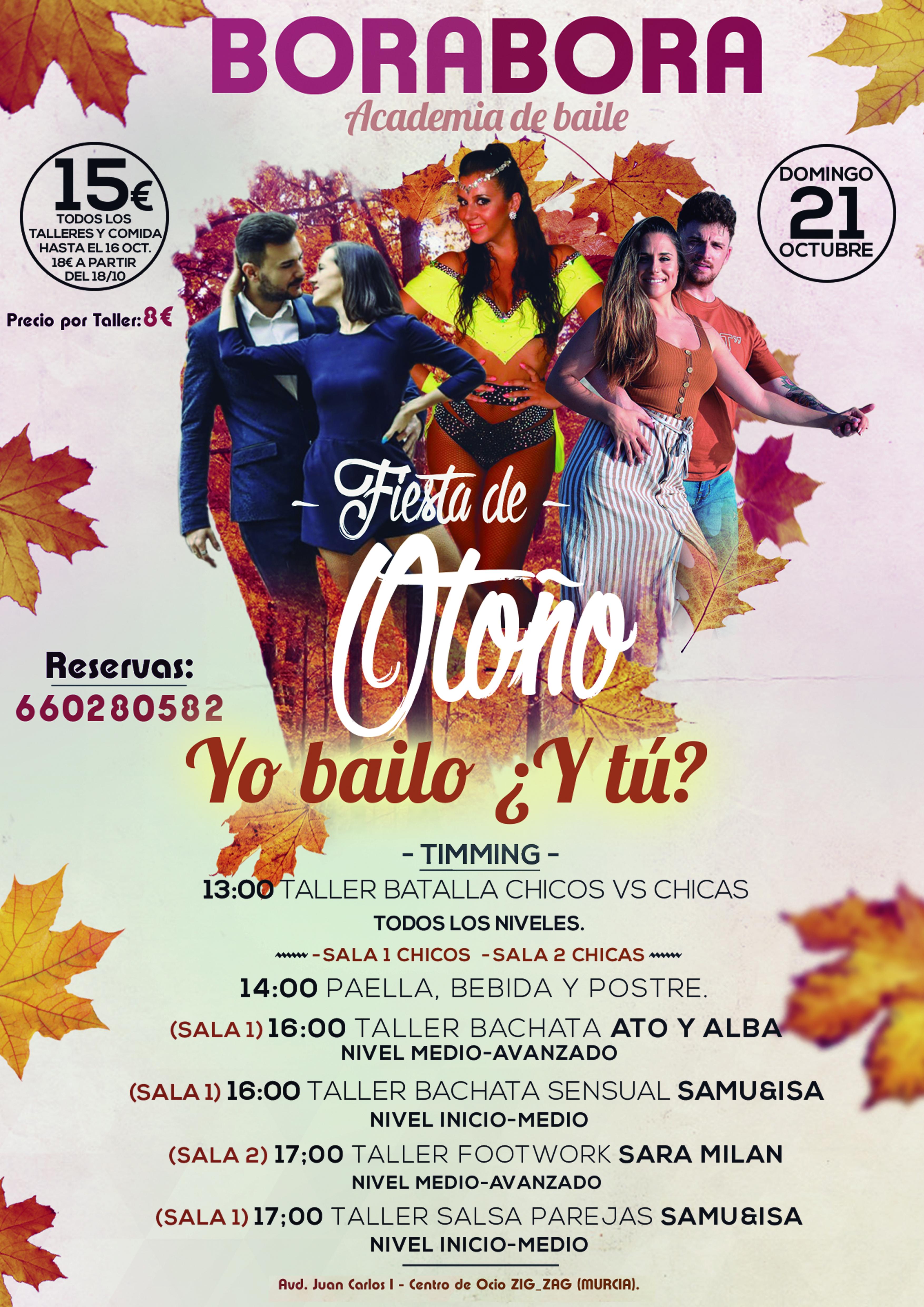 FIESTA OTOÑO YO BAILO 2018