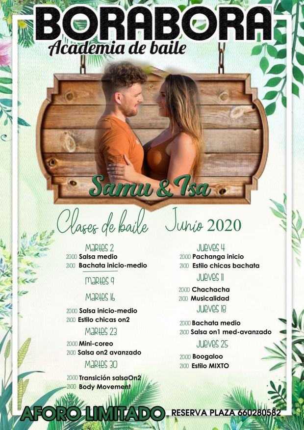 horario junio